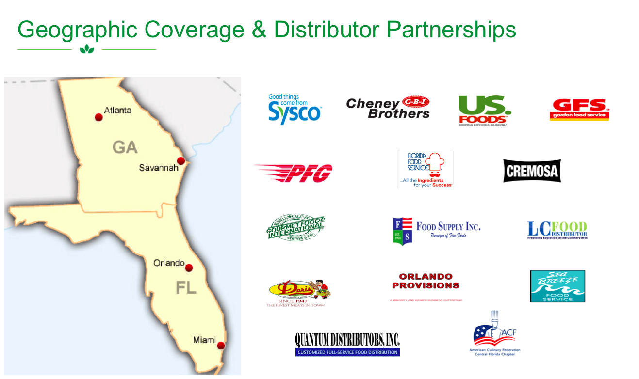 Geographic Coverage & Distribution Partners